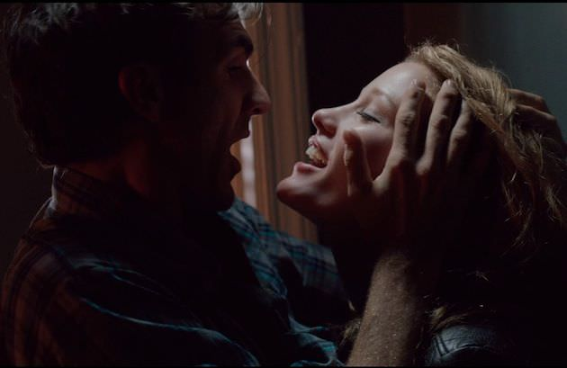 Eventually Otto (Paul Schneider) and Mildred (Ashley Hinshaw) make their relationship physical. Courtesy Tribeca Film Festival.