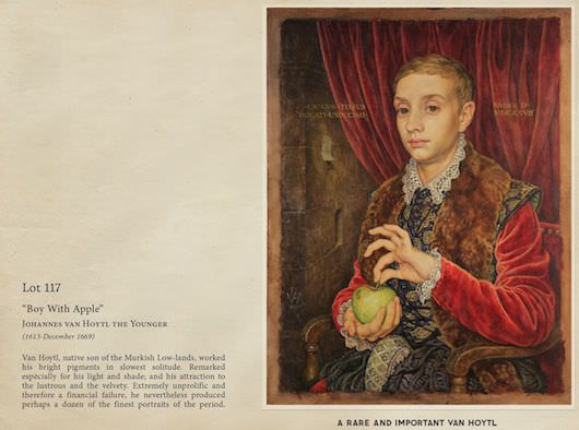 "Johannes van Hoytl the Younger's ""Boy With Apple."""