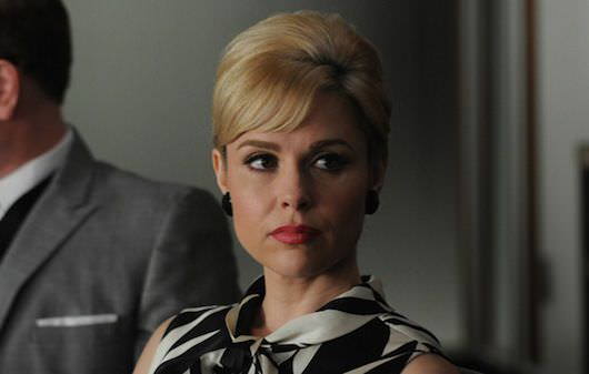 Faye Miller (Cara Buono) was Don's equal in many ways. Which of course scared him. Courtesy AMC.