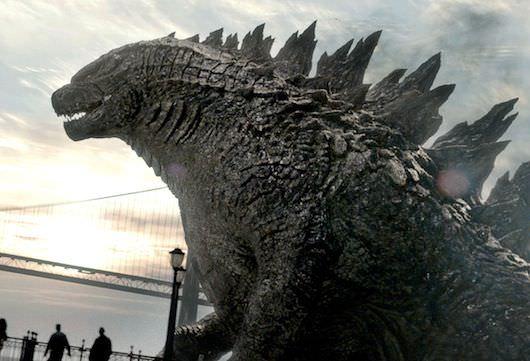 Godzilla, courtesy Warner Bros.