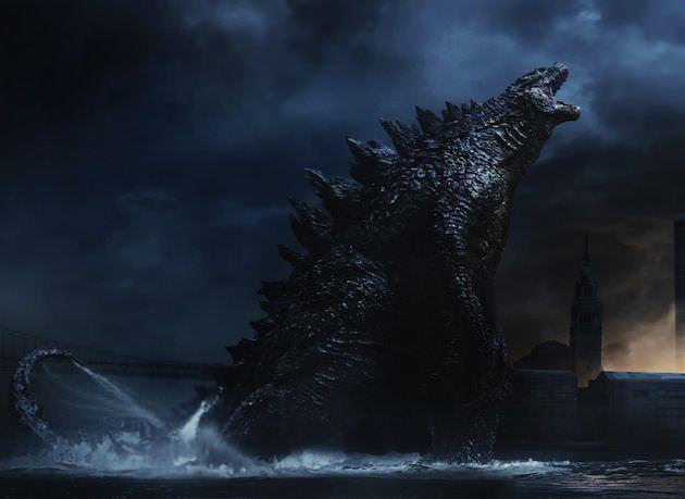 Godzilla mid-shriek. Courtesy Warner Bros. Pictures.