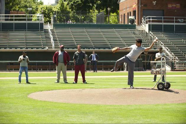 Suraj Sharma plays Rinku, a cricket star turned baseball prospect in Million Dollar Arm. Courtesy Walt Disney Studios.