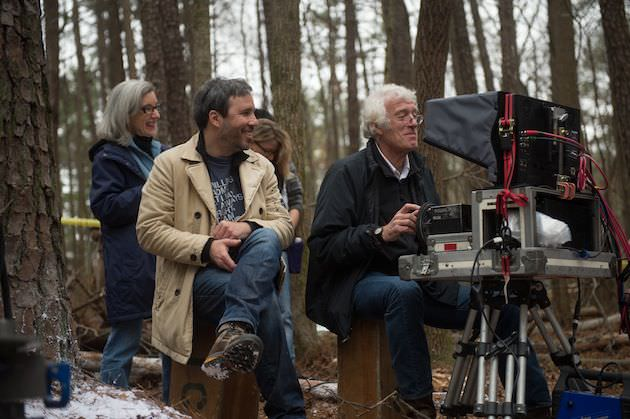 "(L-r) Director DENIS VILLENEUVE and director of photography ROGER A. DEAKINS on the set of Alcon Entertainment's dramatic thriller ""PRISONERS;  a Warner Bros. Pictures release."