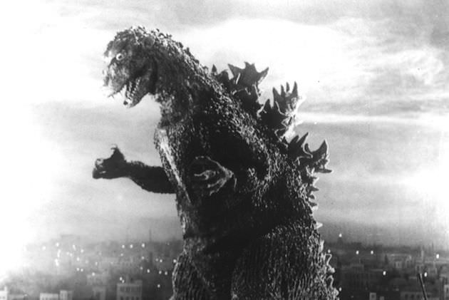 The most famous rubber suit in film history. © Toho Co