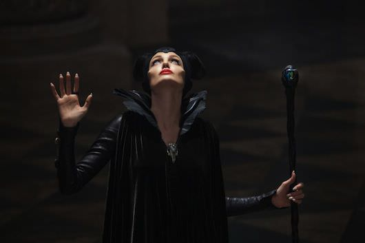 Angelina Jolie is Maleficent. Courtesy Walt Disney Pictures.