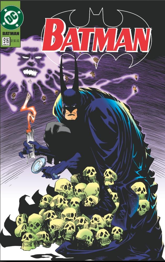 1995. Written by Kelley Jones. Courtesy DC Comics.