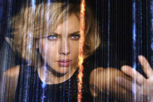 Scarlett Johansson is 'Lucy' in Luc Besson's action-thriller. Courtesy Universal Pictures.