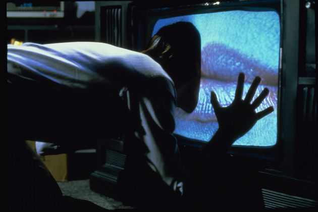 The melding of man and technology. Cronenberg's mind and Rick Baker's effects combined for his 1983 horror fantasy 'Videodrome.' Courtesy Provincetown Film Festival