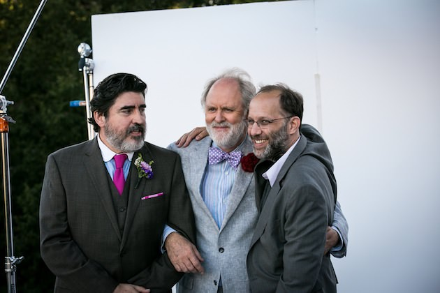 Left to right: Alfred Molina, John Lithgow and Director Ira Sachs Photo by Clay Enos, Courtesy of Sony Pictures Classics