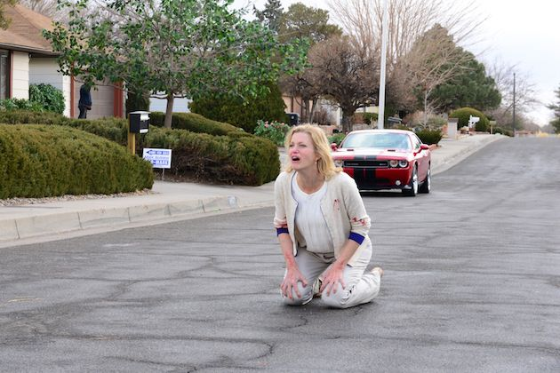 Skyler White (Anna Gunn) after Walt has snatched baby Holly and taken off. Photo Credit: Ursula Coyote/AMC