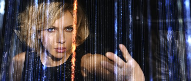 "Writer/director Luc Besson directs SCARLETT JOHANSSON in ""Lucy"", an action-thriller that examines the possibility of what one human could truly do if she unlocked 100 percent of her brain capacity and accessed the furthest reaches of her mind. Courtesy Universal Pictures."