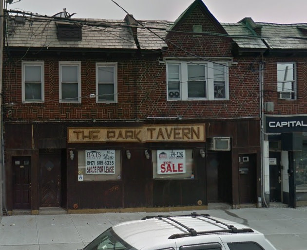 The Park Tavern in Marine Park was transformed into Cousin Marv's Bar.