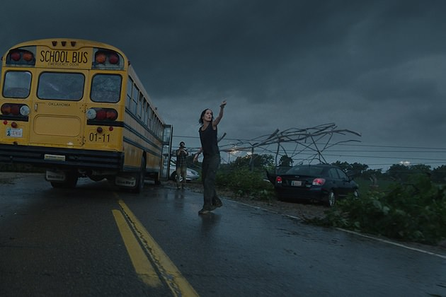 Alison (Sarah Wayne Callies) points to some trouble brewing. Courtesy Warner Bros. Pictures.