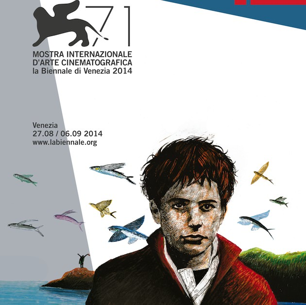 Inspired by the closing scene of The 400 Blows by François Truffaut, the poster has been created by Simone Massi