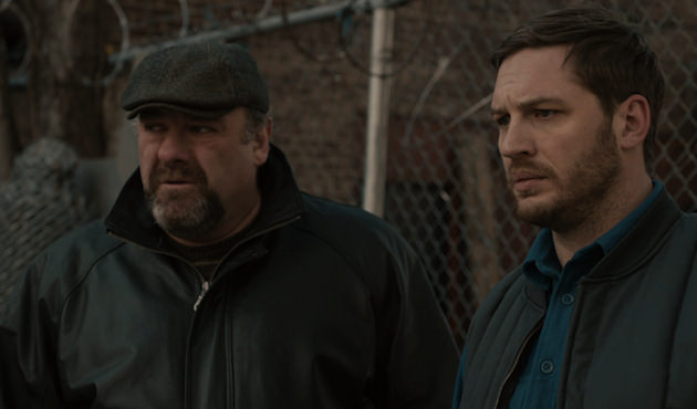 James Gandolfini and Tom Hardy in 'The Drop.' Courtesy Fox Searchlight Pictures.