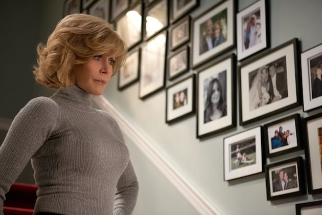 Jane Fonda plays the matriarch, Hilary, and crushes her role. Courtesy Warner Bros. Pictures.