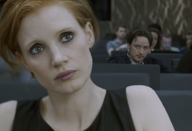 Jessica Chastain and James McAvoy in 'The Disappearance of Eleanor Rigby.' Courtesy The Weinstein Co.