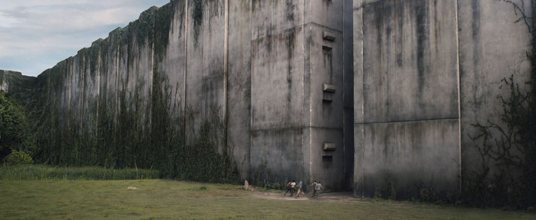 THE MAZE RUNNER A group of boys known as the Gladers are trapped inside a mysterious and massive maze. Ph: Twentieth Century Fox TM and © 2014 Twentieth Century Fox Film Corporation.  All Rights Reserved.  Not for sale or duplication.