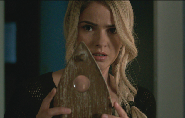 You broke the rules, Debbie! (Shelley Hennig). Courtesy Universal Pictures.