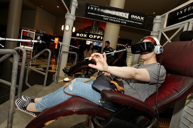 'Interstellar' Oculus Rift Experience. PHOTO by: Amanda Schwab/Starpix