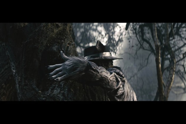 Johnny Depp plays the wolf in 'Into the Woods.' Courtesy Walt Disney Studios