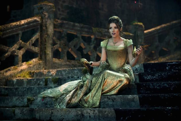 Anna Kendrick as Cinderella. Courtesy Walt Disney Studios