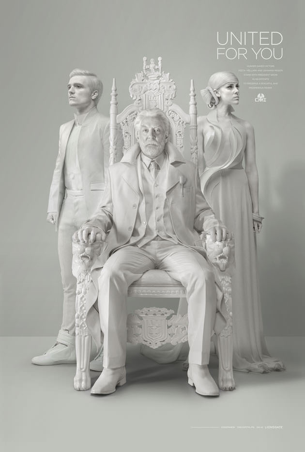 President Snow's Official Portrait