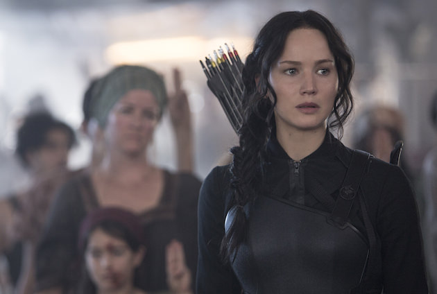 Katniss is no longer playing nice. Courtesy Lionsgate.