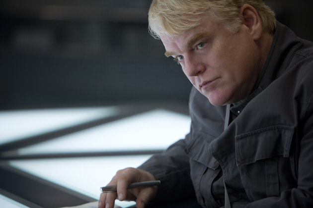 Hoffman elevated every role, including Plutarch, Panem's hyper-intelligent revolutionary. Courtesy Lionsgate.