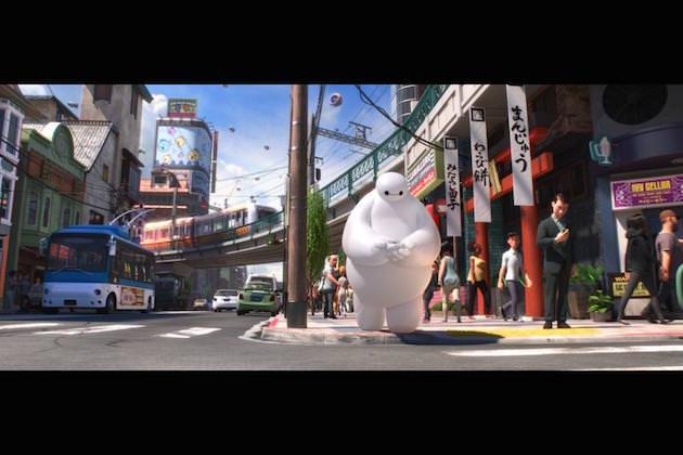 Proprietary software helped enrich the world of 'Big Hero 6.' Courtesy Walt Disney Animation
