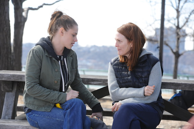 Left to right: Kristen Stewart as Lydia and Julianne Moore as Alice Photo by Jojo Whilden, Courtesy of Sony Pictures Classics