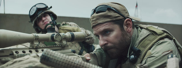 Dever helped Bradley Cooper train with live ammo. Courtesy Warner Bros. Pictures.