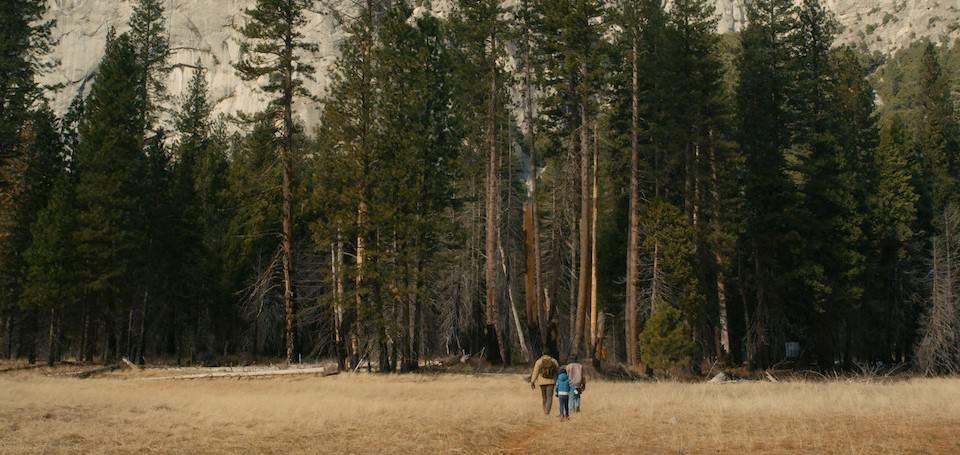 A still from the film 'Yosemite.'