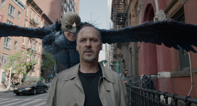 Michael Keaton is Riggan, a man who can't escape his past, or the voice that tells him he's better than what he's become. Courtesy Fox Searchlight Pictures.