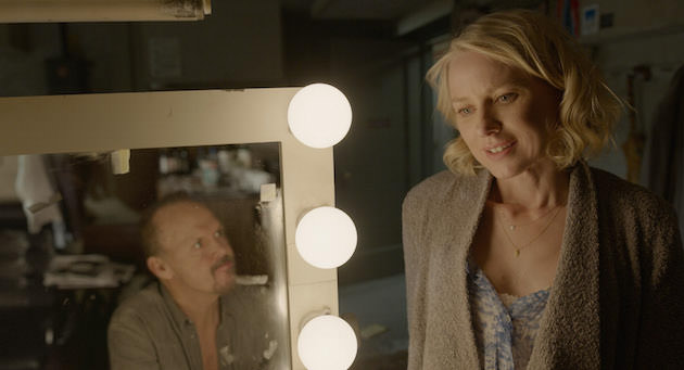 Naomi Watts as Lesley, one of Riggan's lead performers. Courtesy Fox Searchlight Pictures. Copyright © 2014 Twentieth Century Fox.