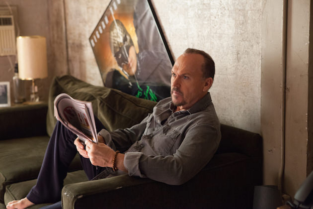 "Michael Keaton as ""Riggan"" in BIRDMAN. Photo by Alison Rosa. Copyright © 2014 Twentieth Century Fox."