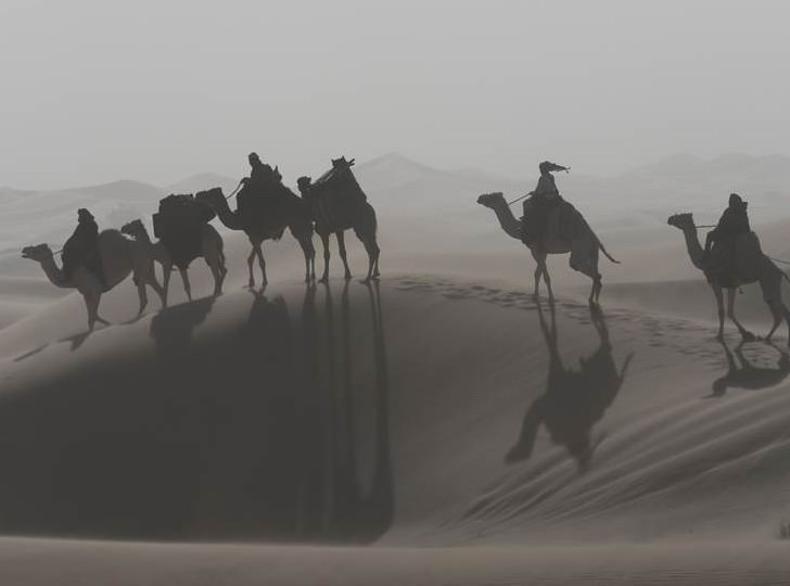 Herzog and his crew used the desert to create a sense of visual poetry. Courtesy Berlinale 2015