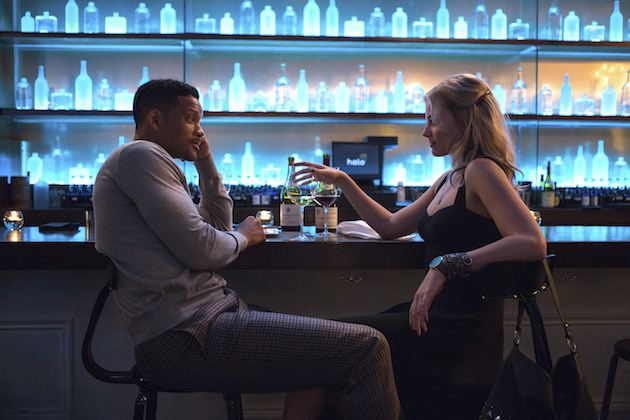 Will Smith stars as Nicky and Margot Robbie as Jess, two thieves who, in real life, were schooled by Apollo Robbins. Courtesy Warner Bros. Pictures.