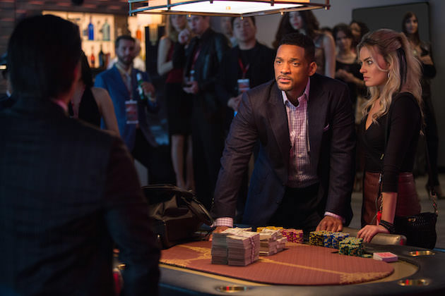 Will Smith and Margot Robbie in 'Focus.' Courtesy Warner Bros. Pictures