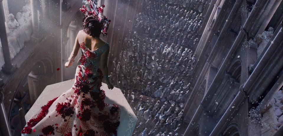 MIla Kunis stars as Jupiter Jones in Lana and Andy Wachowski's 'Jupiter Ascending.' Courtesy Warner Bros. Pictures.