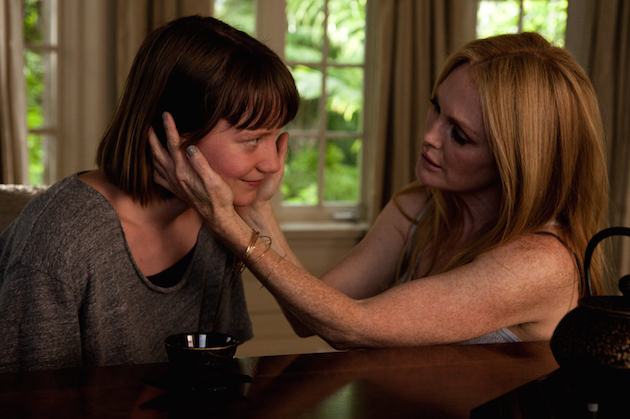 Mia Wasikowska and Julieanne Moore. Courtesy Focus Features.