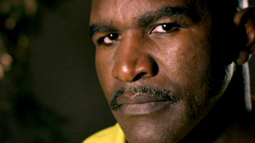 Evander Holyfield, one of the legends of the sport. Courtesy Amplify.