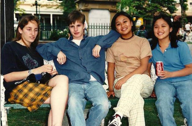Matt Shepard and friends. Courtesy Matt Shepard is a Friend of Mine.