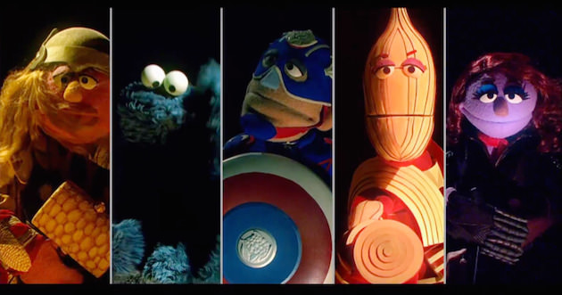 Sesame Street parodies Avengers: Age of Ultron