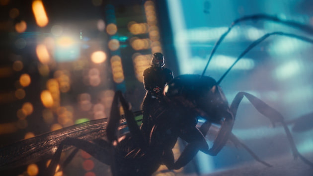 Come on, admit it. Ant-Man's adorable. Courtesy Marvel Studios.