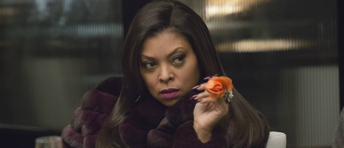 "EMPIRE: Cookie (Taraji P. Henson) holds a secret in the ""Out Damned Spot"" episode of EMPIRE airing Wednesday, Feb. 11 (9:01-10:00 PM ET/PT) on FOX. ©2015 Fox Broadcasting Co. CR: Chuck Hodes/FOX"