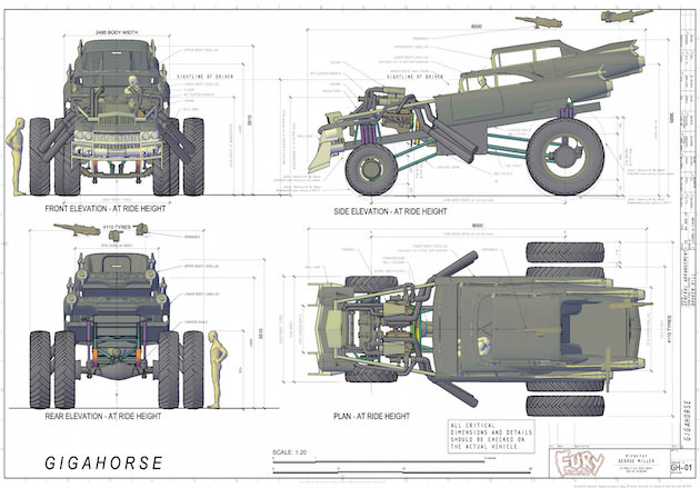 Here S How They Built The Beastly Machines For Mad Max