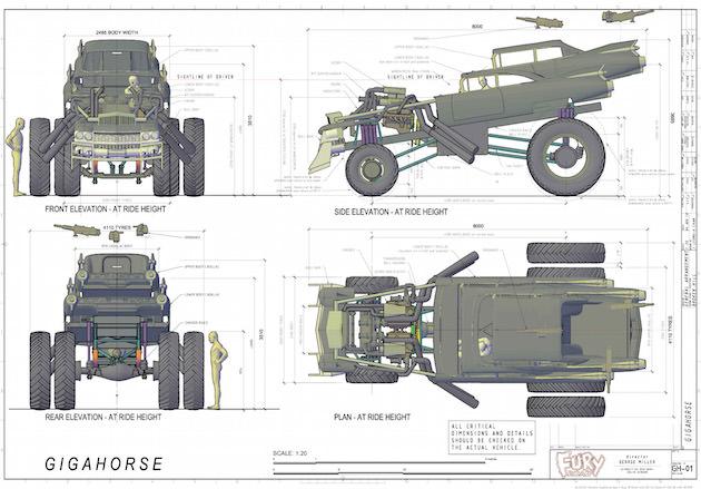 The Gigahorse design. Courtesy Jactina Leong