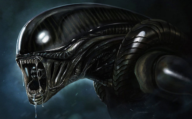 Perhaps Giger's most lasting creation. The alien from Ridley Scott's film.