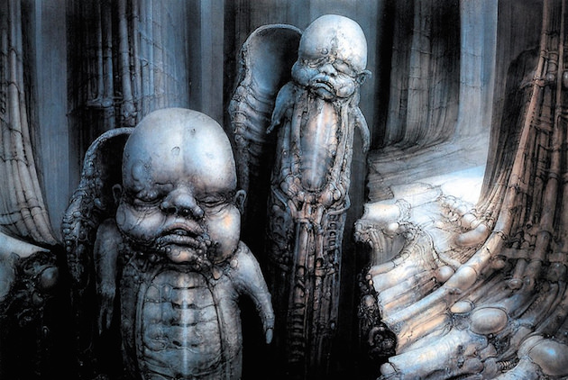 Courtesy 'Dark Star: H.R. Giger'